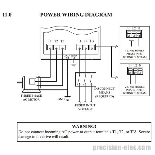 mc series vfd power wiring buy m12100b 10 hp lenze ac tech mc series vfd vfd wiring diagram at gsmx.co